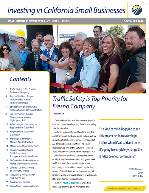 Small Business Newsletter Cover Vol 6 Issue 3